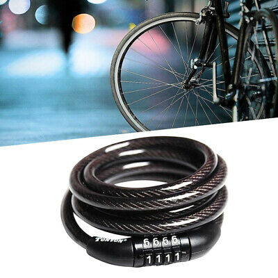 Cycling Security 4-Digit Combination Password Bike Bicycle Cable SALE H8A6 N7C8