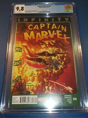 CAPTAIN MARVEL #16 PANOSIAN SPIDER-WOMAN VARIANT MARVEL COMICS EB21