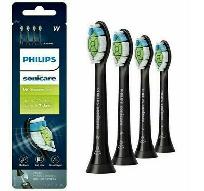 Phillips Sonicare Diamond Clean Replacement Toothbrush Heads HX6064 | BLACK