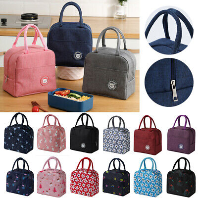 Children Kids Adult Lunch Bags Insulated Cool Bag Picnic Bags School Lunch Box !