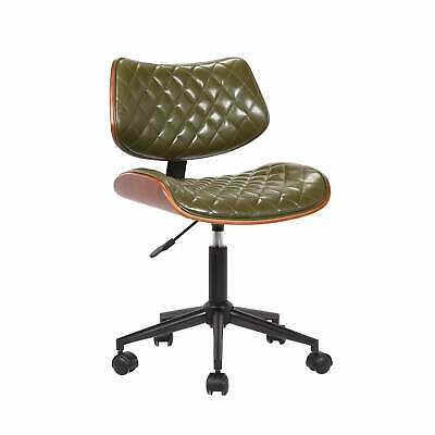 Porthos Home Office Chair Bentwood Walnut Veneer Style Green 135 49 Picclick