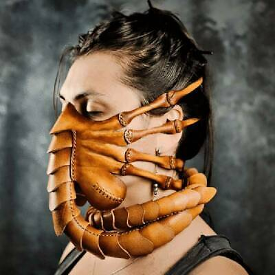 Halloween Party Funny Face Mask Scorpion Mask Alien Facehugger Latex Mask Props