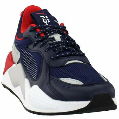 Puma Rs-X Core Lace Up Sneakers  Casual    - Blue - Mens