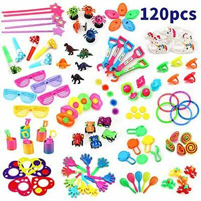 nicknack Bulk Party Toys,120pcs Party Bag Fillers for Kids Birthday Party Favour