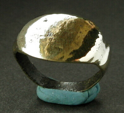 A genuine ancient Roman bronze ring - wearable _ UK find