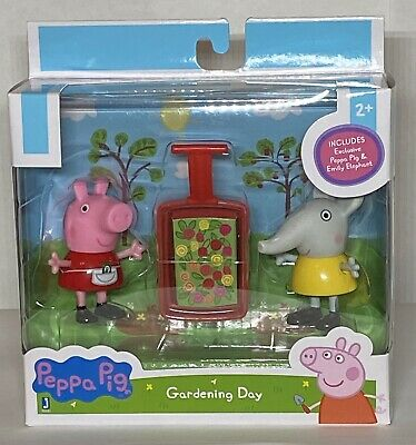 Peppa Pig Gardening Day Figure Set NEW Sealed