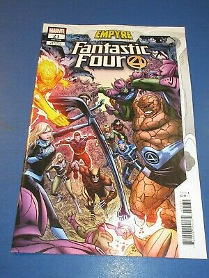 FANTASTIC FOUR #1 BRADSHAW VARIANT MARVEL COMICS NM Ch3 Free Shipping Available
