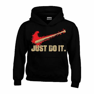 Just Do It Hoodie The Walking Dead Slogan Baseball Sports Christmas Kids Hoody