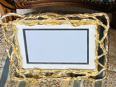 Holds 4x6 or 5x7 Photos Michael Aram Wisteria Gold Picture Frame 123307