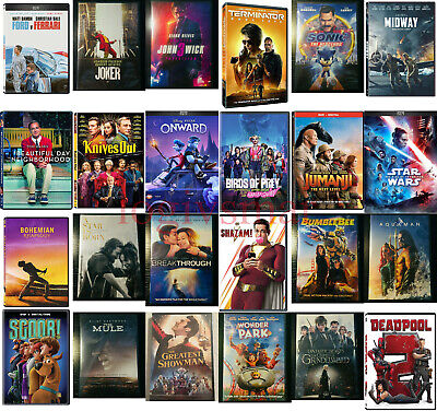 You PICK DVD Movies Lot (2020) BRAND NEW - FREE SHIPPING!!!