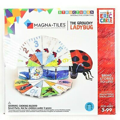 Connects W// Magnets NEW Magna-Tiles World of Eric Carle 10 little Ducks