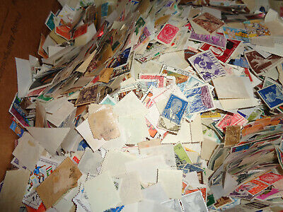 Worldwide Boxlot, Over 7 Lbs Of Stamps, Off Paper, Unchecked, Box 3