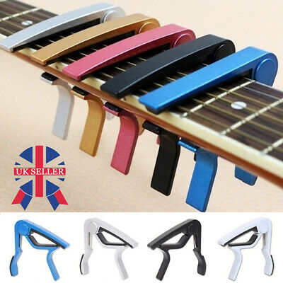 Premium Guitar Capo Trigger Clamp For Acoustic Electric Classical Guitars Banjo