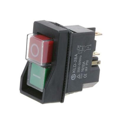 KLD-28A Waterproof Magnetic Switch Explosion-proof Pushbutton Switches 220V-IP55