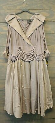 Mother Of The Bride 24W Plus Size Gown Formal Wedding Jessica McClintock NWT