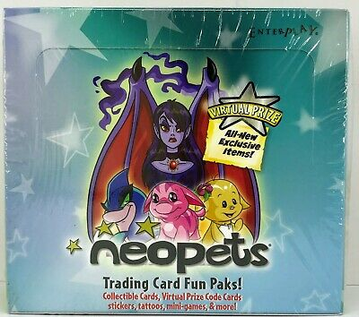 Neopets Trading Cards - 24-pack box factory sealed