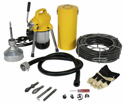 Steel Dragon Tools® K50 Drain Cleaning Machine fits RIDGID® C8 Snake Sewer Cable