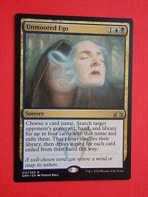 3x Unmoored Ego 212//259 Near Mint MTG Guilds of Ravnica