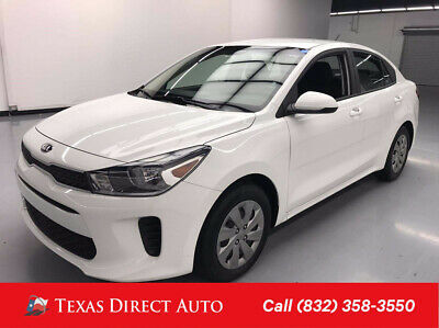 2019 KIA Rio S Texas Direct Auto 2019 S Used 1.6L I4 16V Automatic FWD Sedan Premium