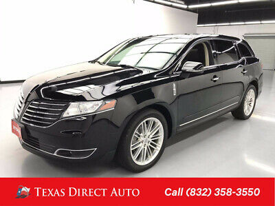 2018 Lincoln MKT Reserve Texas Direct Auto 2018 Reserve Used Turbo 3.5L V6 24V Automatic AWD Wagon