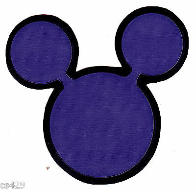 Disney mickey mouse stars wall decal prepasted border cut out 4.5 inch