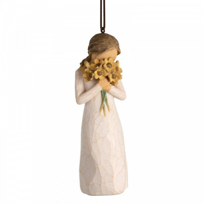 Willow Tree Warm Embrace Hanging Ornament 28015 Christmas Figurine New Boxed