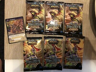 UK Seller Tomb of the Forgotten World of Warcraft Booster Pack