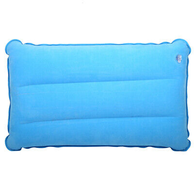 Folding Inflatable Lightweight Airplane Pillow Cushion Travel Hiking Camping US