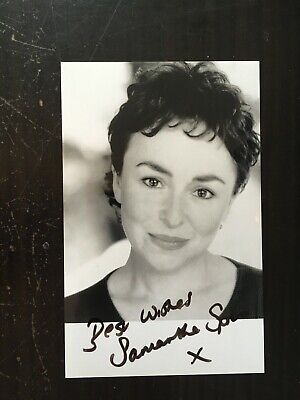 Samantha Spiro Popular British Actress Dr Who Excellent Signed Photograph 12 50 Picclick Uk