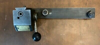 KDK Tool Quick Change Tool Post 100 Series affixed to plate