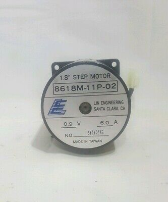 Lin Engineering 8618M-11P-02 1.8* Step Motor 0.9V 6A