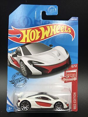 Hot Wheels 2020 Target Red Edition Mclaren P1 9 12 149 250 Toys Hobbies Diecast Toy Vehicles