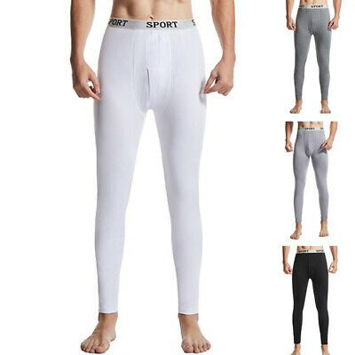 Men Thermal Long Johns Breathable Underwear Thin Thick Sport Style Under Pants