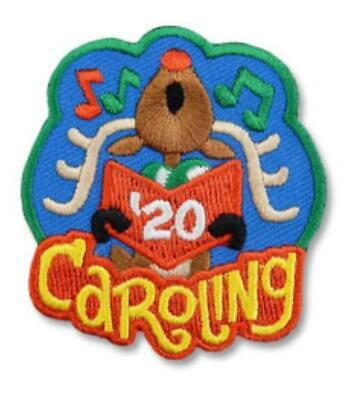 Girl Boy /'20 2020 FALL FUN Fox Event Fun Patches Crest Badge SCOUTS GUIDE Day