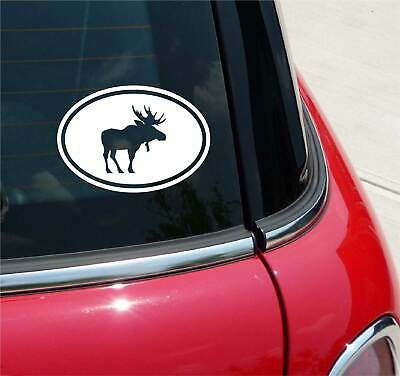 IS LOOSE HUNTING LODGE GRAPHIC DECAL STICKER ART CAR WALL DECOR GOT MOOSE