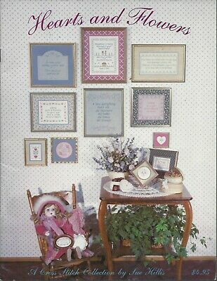 Lost Mittens By Sue Hillis Designs Vintage Cross Stitch Pattern Leaflet 1999 With Charm
