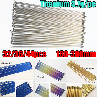 "36PCS Bicycle Spokes for 27/"" Bike 14G x 302mm//304mm//306mm//307mm Road Track Bikes"