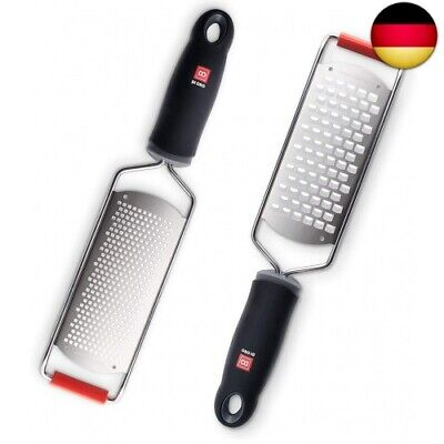Coarse Grater 31 cm Stainless Steel Soft Grip Handle Cheese Grater Grating Food
