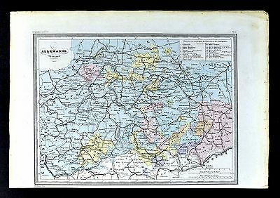 US CONFEDERATE STATES 1862 SC MAP HORRY JASPER KERSHAW LANCASTER LAURENS COUNTY