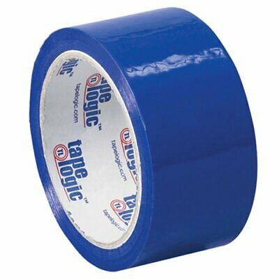 Aviditi Tape Logic 2 Inch x 55 Yard 2.2 Mil Blue Heavy Duty Colored Packing T...