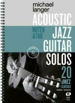 Acoustic Jazz Guitar Solos | 20 Jazz Classics in Noten und TAB / medium-advanced