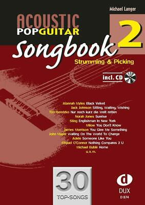 Acoustic Pop Guitar - Songbook 2 | Strumming & Picking | Michael Langer | 2013