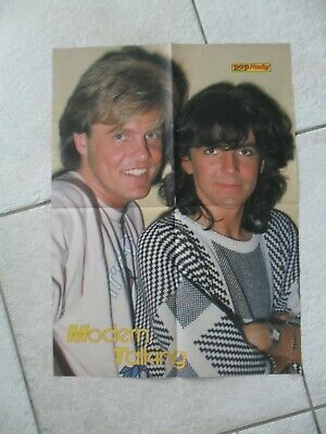 POP Rocky Superposter von Modern Talking + King aus Heft 11/1985