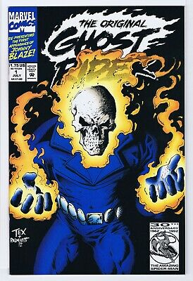 Ghost Rider #31P Kubert Polybagged Variant NM 9.4 1992 Stock Image