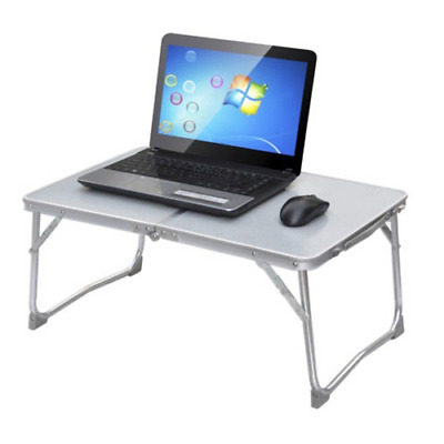 Portable Adjustable Aluminum Alloy Folding Computer Table Camping Outdoor Picnic