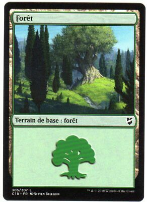 ▼▲▼ 4x Forêt Commandeur #317 FRENCH Magic Forest