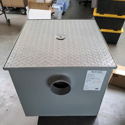 ZURN 35 gpm Coated Fabricated Steel 70 lb capacity Drain Fat Interceptor