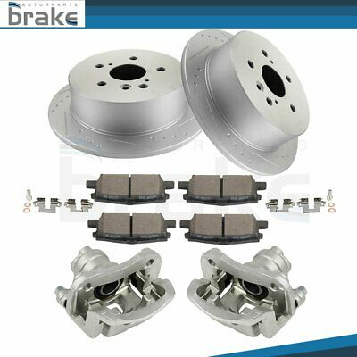 NEW OEM AC Delco DELPHI Brake Calipers with Brackets Fronts.  Set of 2 L and R