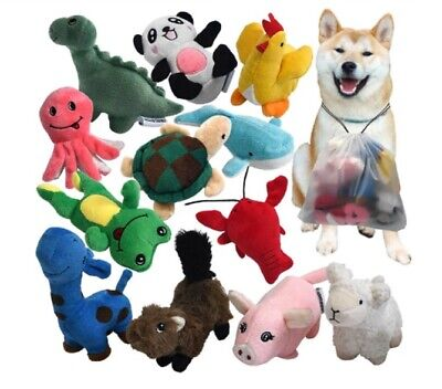Squeaky Plush Dog Toy Pack for Puppy, Small Stuffed Puppy Chew Toys 12 Dog Toys