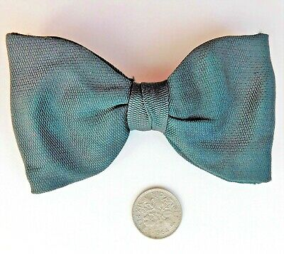 Austin Reed Single Ended Bow Tie Black Pique Vintage 1930s 1940s 1950s Self Tie 11 00 Picclick Uk